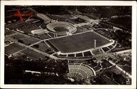 Berlin Charlottenburg, Fliegeraufnahme, Olympiastadion, Waldbühne