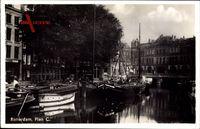 Rotterdam Südholland Niederlande, Planc C, Boote im Hafen