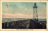 Hoek van Holland Rotterdam Südholland, De Pier, Hafen, Turm