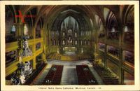 Montreal Québec Kanada, Interior, Notre Dame Cathedral
