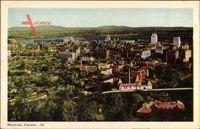 Montreal Québec Kanada, Fliegeraufnahme der Stadt, Siedlungen