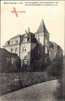 Zitzschewig Radebeul Sachsen, Blick auf Genesungsheim Alt Wettinhöhe
