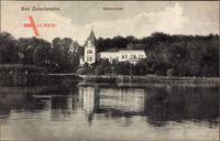 Bad Zwischenahn, Gewässerpartie mit Blick auf das Sanatorium