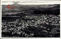 Süssen Landkreis Göppingen, Blick auf den Ort, Hohenstaufen, Fliegeraufnahme